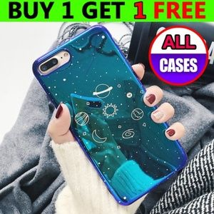 *NEW iPhone X/XS/Max/XR/7/8/Plus Planet Case
